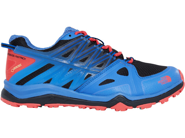 The North Face Hedgehog Fastpack Lite II GTX Shoes Dam amparo blue/cayenne red